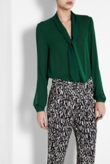 Tie Neck blouse by Malene Birger at My Wardrobe