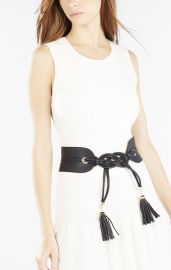 Tie Tassel Belt at Bcbg