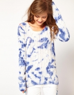 Tie dye jumper by Maison Scotch at Asos