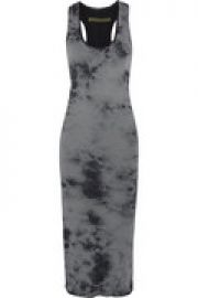 Tie-dyed pima cotton dress at The Outnet