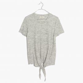 Tie front tee at Madewell
