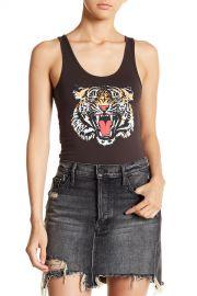 Tiger Print Bodysuit at Nordstrom Rack