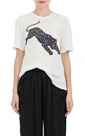 Tiger-Print Cotton T-Shirt at Barneys