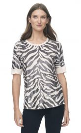 Tiger Sequin Top at Rebecca Taylor