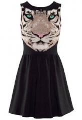 Tiger dress at She Inside