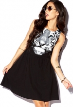 Tiger face dress at Forever 21