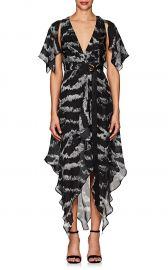 Tigress Wrap Dress at Barneys