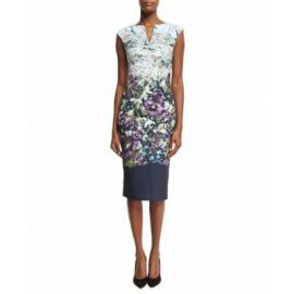 Tiha Entangled Enchantment Floral Sheath Dress at Neiman Marcus