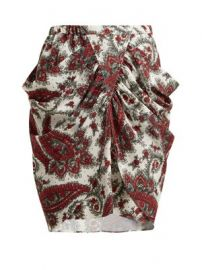 Tilena paisley-print crepe skirt at Matches