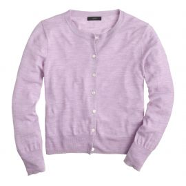 Tilly cardigan sweater in Purple at J. Crew