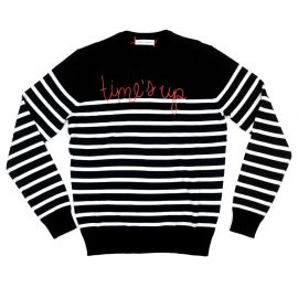 Time\\\'s up sweater by Lingua Franca at Lingua Franca