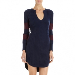 Timo Weiland Cable Knit Sweater Dress at Barneys