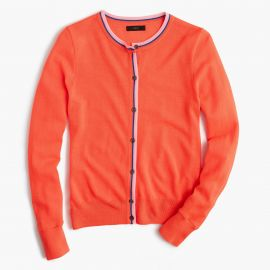 Tipped Jackie Cardigan by J. Crew at J. Crew