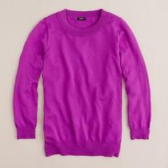 Tippi Sweater in Bright Dahlia at J. Crew