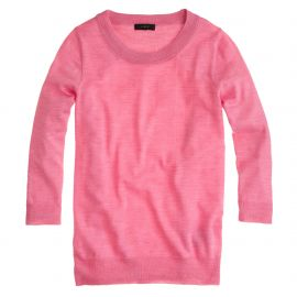 Tippi Sweater in Pink at J. Crew