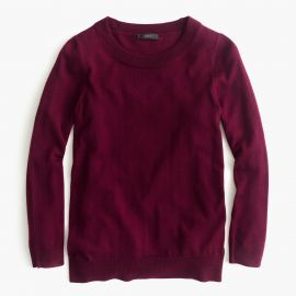 Tippi sweater in garnet flame at J. Crew