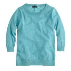 Tippi sweater in hthr mineral at J. Crew