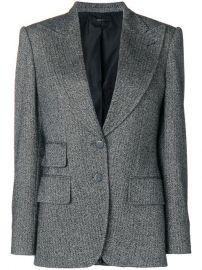 Tom Ford Double-breasted Tweed Blazer at Farfetch