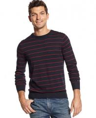 Tommy Hilfiger American Striped Sweater - Sweaters - Men - Macys at Macys