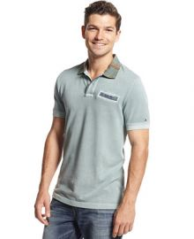 Tommy Hilfiger Eastham Custom-Fit Polo - Polos - Men - Macys at Macys