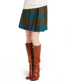 Tommy Hilfiger Plaid A-Line Skirt - Women - Macys at Macys