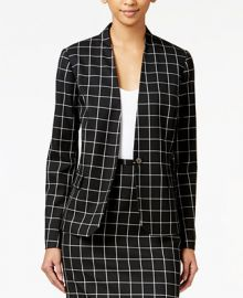 Tommy Hilfiger Windowpane Jacket at Macys