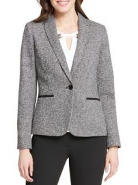 Tommy Hilfiger one button sweater jacket at Lord & Taylor