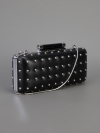 Tonda studded clutch by Diane von Furstenberg at Farfetch