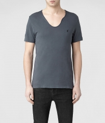 Tonic Scoop Tshirt in Washed Ink at All Saints