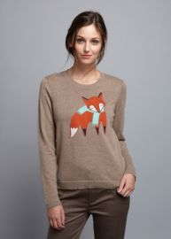 Too Foxy Sweater at Brooklyn Industries