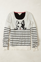 Top Dog Pullover at Anthropologie