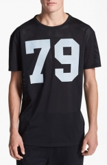 Topman 79 Oversized Mesh T-Shirt at Nordstrom