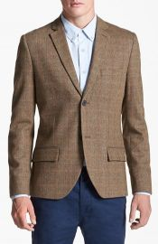 Topman Check Tweed Blazer at Nordstrom