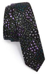 Topman Floral Skinny Tie at Nordstrom