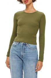 Topshop Long Sleeve Tee at Nordstrom