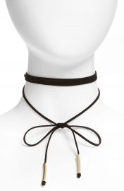 Topshop Wrap Choker Necklace at Nordstrom