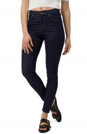 Topshop  Jamie  Pinstripe High Rise Ankle Skinny Jeans at Nordstrom