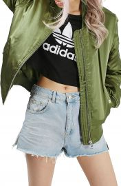 Topshop  MA1  Shiny Bomber Jacket at Nordstrom