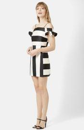 Topshop Bardot A-Line Dress at Nordstrom