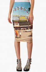 Topshop Big Wheel Tube Skirt at Nordstrom
