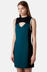 Topshop Colorblock Body-Con Dress at Nordstrom Rack