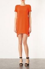 Topshop Crepe Shift Dress at Nordstrom