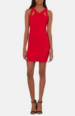 Topshop Cutout Racerback Body-Con Dress at Nordstrom