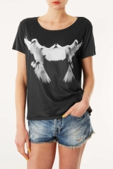 Topshop Dove Tee at Nordstrom
