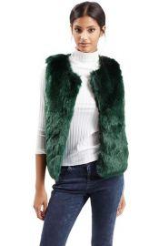 Topshop Faux Fur Gilet Vest at Nordstrom