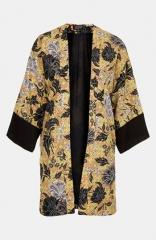 Topshop Floral Print Kimono at Nordstrom