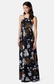 Topshop Folk Print Maxi Dress at Nordstrom