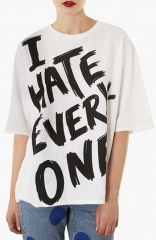 Topshop I Hate Everyone Tee at Nordstrom