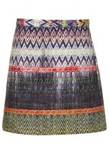Topshop Ikat Patterned Skirt at Nordstrom