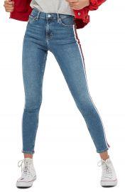 Topshop Jamie Side Stripe Jeans at Nordstrom